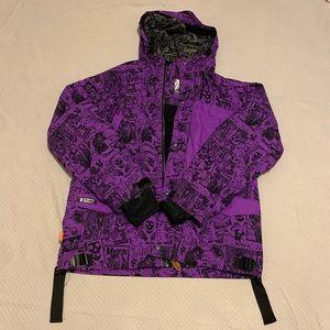 Grenade Snow board Jacket Medium Kennedy Purple